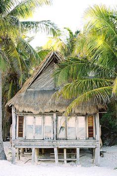 Tulum Mexico Hut