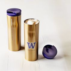 Starbucks UW Collection Stainless Steel Tumbler - Gold, 16 fl oz