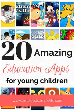 These apps are some of the best education apps available for young children to learn. These are great apps to use during summer months or breaks in school. kids activities, kids learning, apps for kids - Tap the link to shop on our official online store! You can also join our affiliate and/or rewards programs for FREE!