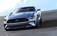 2018 Ford Mustang Facelift Loses V6, Gains New Face, 10-Speed Auto And Digital Cluster