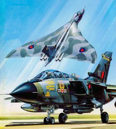 Military Jets, Military Aircraft, Avro Vulcan, Delta Wing, British Armed Forces, Jet Plane, Royal Air Force, Aviation Art, Special Forces
