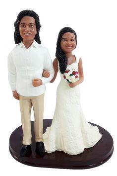 Custom Wedding Cake Toppers, Wedding Cakes, Bobble Head, Redheads, Classic Style, Sculpting, Groom, Bride, Female