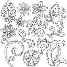 Free Printable Paisley Templates - Bing images