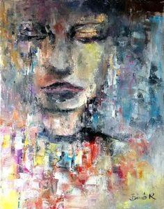 oil canvas Konrad Biro art Hungarian painter