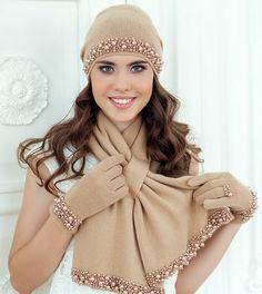 sapka modelleri 25 Crochet Headband Pattern, Knitted Headband, Knitted Hats, Hijab Fashion, Boy Fashion, Fashion Dresses, Fashion Children, Knit Crochet, Crochet Hats