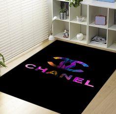 Colour logo Coco Chanel m Blanket