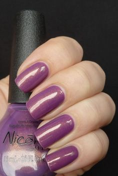 NICOLE BY OPI - Purple Yourself Together ... From AllYouDesire, www.all-you-desire.com