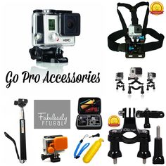 Looking for a Go Pro Hero? Get started with here with the Go Pro and then get all of the accessories that you'll want for less with these deals!!