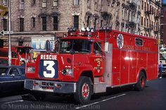"Vintage Fdny | FDNY Rescue 3 / ""Big Blue"" 