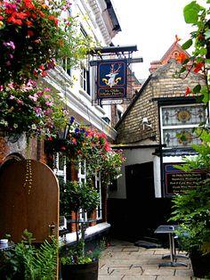 Ye Olde White Harte pub. Hull, England.