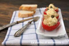 La cucina di Nonna Sole: Pomodori crudi ripieni
