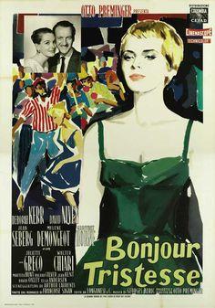 Bonjour Tristesse....Jean Seberg.....with fabulous styling!!!....