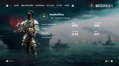 New Battlefield 4 menu?