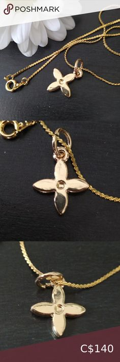 Check out this listing I just found on Poshmark: Reworked Louis Vuitton flower necklace. #shopmycloset #poshmark #shopping #style #pinitforlater #Louis Vuitton #Jewelry