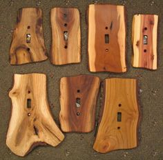wohnen Switches, GFIs & Outlet Covers : Sisters Log Furniture, Handcrafted Western Gifts & Decor Is Western Decor, Rustic Decor, Log Decor, Log Cabin Decorating, Country Cabin Decor, Hunting Cabin Decor, Barn Wood Decor, Diy Cabin, Deer Decor
