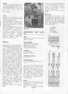 Album Archive - Dukketøj til Baby Born 2 - Ingelise Knitted Doll Patterns, Knitted Dolls, Baby Knitting Patterns, Baby Born, Album, Barbie And Ken, Clothing Patterns, Baby Dolls, Doll Clothes