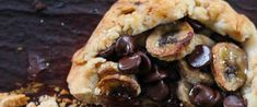 GF Banana Chocolate Crostata | Eat Good 4 Life