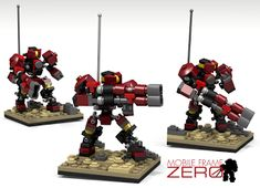 Mobile Frame Zero: Rapid Attack - A LEGO Miniatures Game Review | Warhammer 40k, Fantasy, Wargames & Miniatures News: Bell of Lost Souls