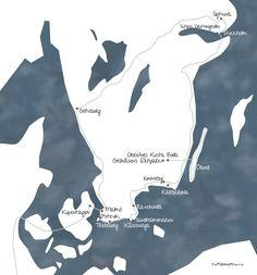 Küstenrundreise durch Südschweden / Malmö - Käseberga - Sandhammaren - Ronneby - Karlskrona - Öland - Grönasens Elchpark - Orrefors Kosta Boda - Schloss Drottingholm - Stockholm - Sigtuna - Göteborg