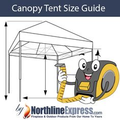 There are a variety of factors to consider when you are determining the size of the canopy that you are going to need. The most important consideration is going to be the space that you have available.