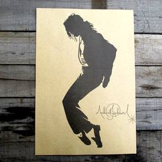 Vintage Michael Jackson Poster Retro Wand Dekoration 30x42 cm(China (Mainland))