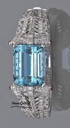 Gorgeous Aquamarine Ring