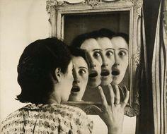 """Grete Stern. Sueño nº 7: ¿Quién será?, de la serie """"Los Sueños"""", fotomontajes. Buenos Aires, 1949 (fuente: IVAM)"""