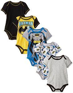 Warner Brothers Baby Baby-Boys Newborn Boy Batman 5 Pack Creeper, Grey, 0-3 Months Warner Bros. http://www.amazon.com/dp/B00U7KGT2Q/ref=cm_sw_r_pi_dp_L2eGwb0R57C8G