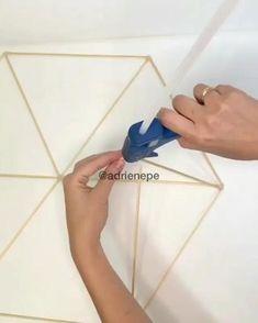 Diy Room Decor Videos, Cute Diy Room Decor, Diy Crafts For Home Decor, Diy Crafts Hacks, Diy Crafts For Gifts, Diy Arts And Crafts, Diy Wall Decor, Diy Projects, Diy Décoration