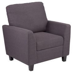 Plushen Chair Gray - Holly & Martin, Grey Ink