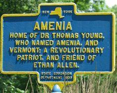 Amenia, NY Marker