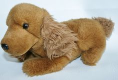 Plush  Brown Cocker Spaniel Puppy Dog Stuffed Animal Toy Lovey