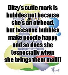 the fuck is Ditzy? it's DERPY!