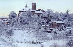 Tagliolo  Monferrato  sotto la neve .Alto Monferrato