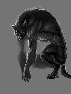 concept art of a werewolf its tied to a little story i had in mind. Fantasy Creatures, Mythical Creatures, Apocalypse, Of Wolf And Man, Besta, Bark At The Moon, Werewolf Art, Vampires And Werewolves, Creatures Of The Night