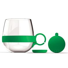 Glass Tea Mug + Infuser