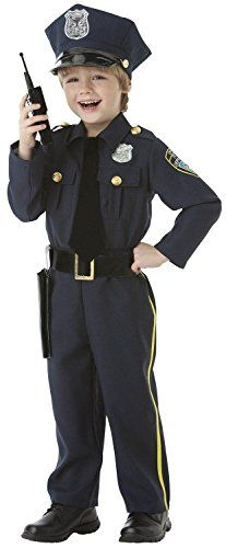 Diy police officer child costumes and dress ups pinterest police officer 5 piece boys costume set size medium 810 check out the solutioingenieria Images