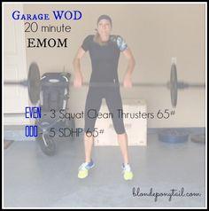 CrossFit EMOM 20 minutes