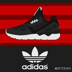 Adidas Tubular Black Color