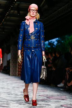 Gucci Ready To Wear Spring Summer 2016 Milan