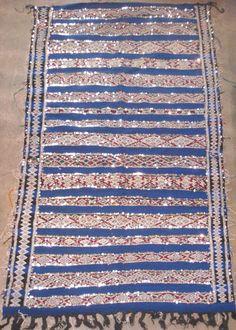moroccan wedding rug. stunner