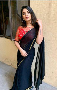 Beautiful Indian Actress, Beautiful Saree, Stylish Photo Pose, Saree Blouse Designs, Photo Poses, Indian Beauty, Indian Actresses, Fashion Dresses, Indian Sarees