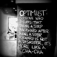 Optimist...