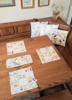 Goldilocks Table Set by Heidi Staples of Fabric Mutt