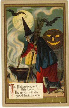 The witch will stir ...