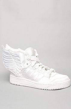 These are rad, until you wear them in the wild!  The Jeremy Scott Wings 2.0 Sneaker in Satin