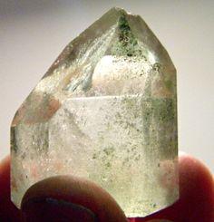 Chlorite phantam quartz by Krystalins on Etsy, $12.00