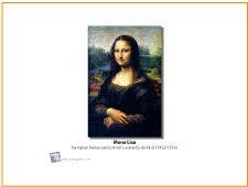 Mona Lisa   Art Masterpiece Desktop Wallpaper   MakingArtFun.com