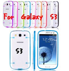 Ultra Thin Slim Transparent Clear HARD TPU Cover Clip Case For Samsung Galaxy S3 #UnbrandedGeneric