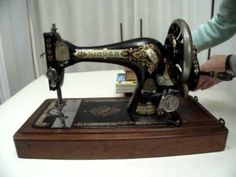 How to clean and oil a vintage sewing machine Part excellent tutorial with general tips. Clear instructions on how to clean and oil a vintage sewing machine. Make sure you watch Part 2 for the end result.